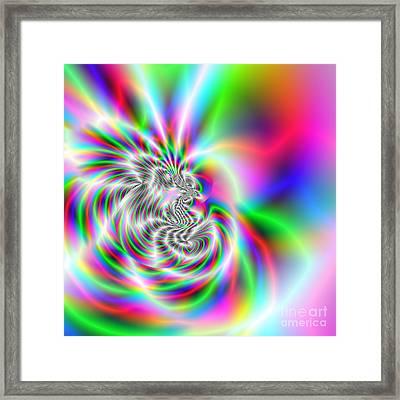Wave 002a Framed Print by Rolf Bertram