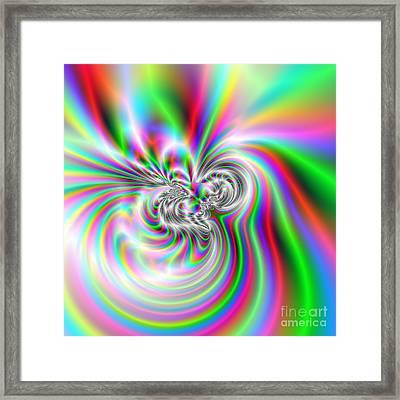 Wave 002c Framed Print by Rolf Bertram