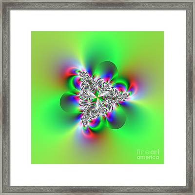 Wave 002d Framed Print by Rolf Bertram