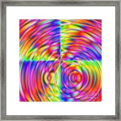 Wave 006 Framed Print by Rolf Bertram