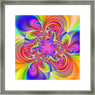 Wave 006c Framed Print by Rolf Bertram