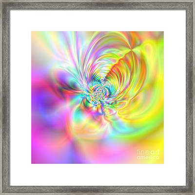 Wave 007b Framed Print by Rolf Bertram