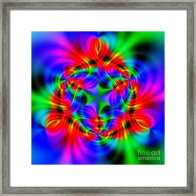 Wave 010a Framed Print by Rolf Bertram