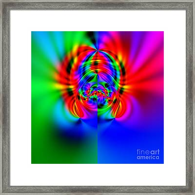 Wave 010b Framed Print by Rolf Bertram