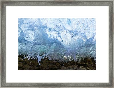 Wave 1 Framed Print