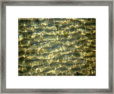 Wave Abstract Framed Print by Michael Durst