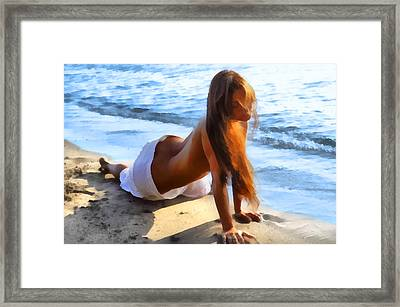 Wave Baby 2 Framed Print by Naman Imagery