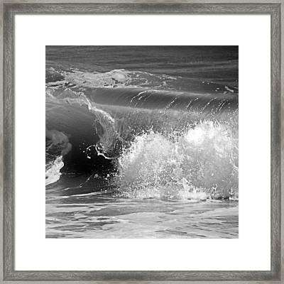 Wave Framed Print by Charles Harden