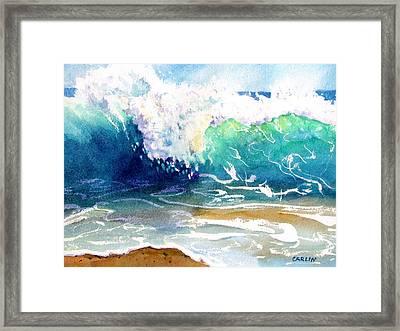 Wave Color Framed Print