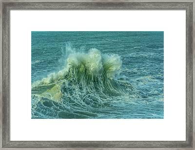 Wave Crown Framed Print