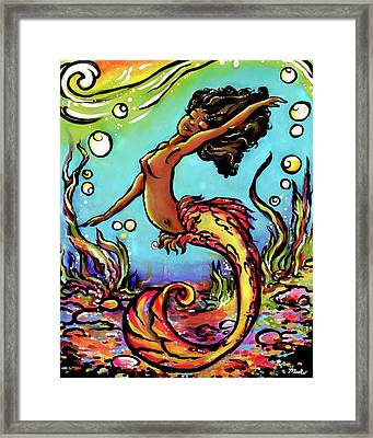Wave Dancer  Framed Print