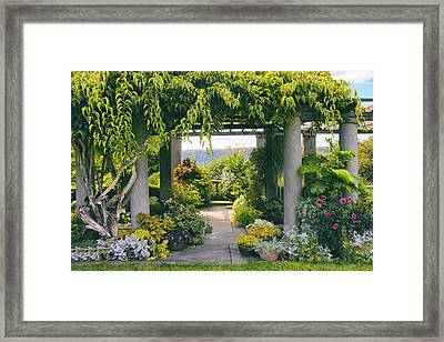 Wave Hill Framed Print by Jessica Jenney