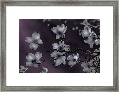 Framed Print featuring the painting Wave Japanese Art by Gray  Artus