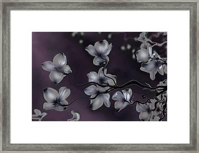 Wave Japanese Art Framed Print by Gray  Artus