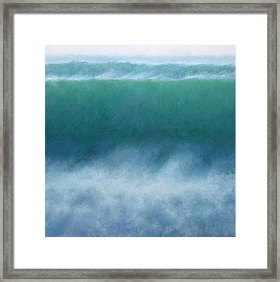 Wave Framed Print by Jeremy Annett