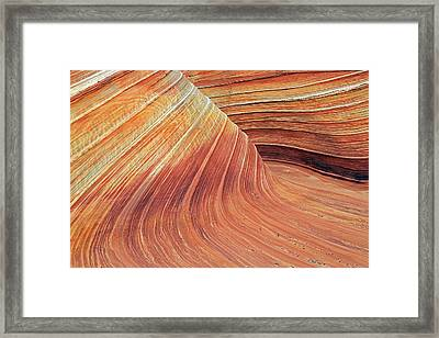 Wave Framed Print by Johnny Adolphson