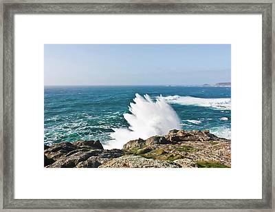 Wave Like Quartz Framed Print by Terri Waters