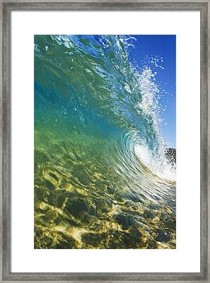 Wave - Makena Framed Print