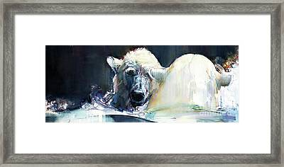 Wave Framed Print by Mark Adlington