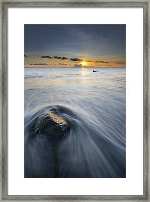 Wave Framed Print by Ng Hock How