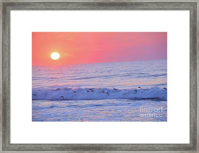 Wave Of Gratitude Nature Art Framed Print by Robyn King