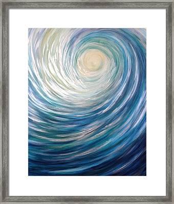 Wave Of Light Framed Print