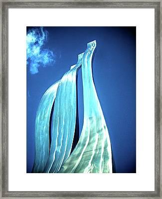 Wave Of Weiden Framed Print