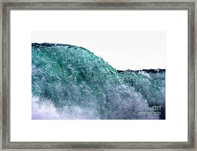 Framed Print featuring the photograph Wave Rider by Dana DiPasquale