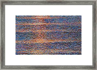 Wave Study Framed Print