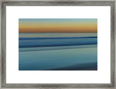 Wave Tracks 3 Framed Print