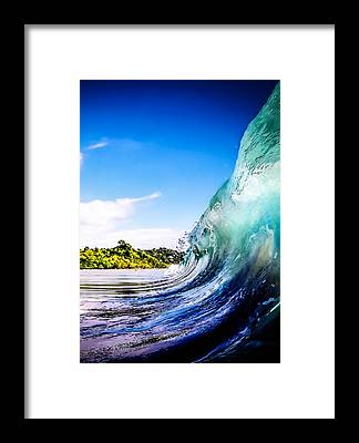 Waves Framed Prints