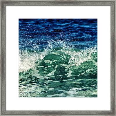 Wave3 Framed Print