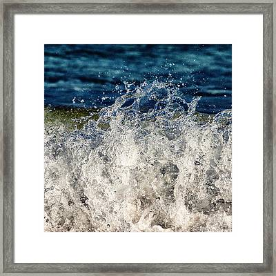 Wave4 Framed Print by Stelios Kleanthous