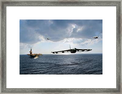 Waverunner Framed Print by Peter Chilelli
