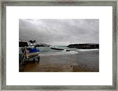 Waves Azores-033 Framed Print