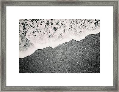 Waves Framed Print by Utopia Concepts