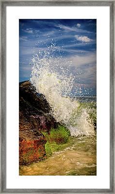 Waves Framed Print by David Hahn