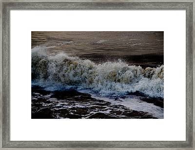 Waves Detail Framed Print