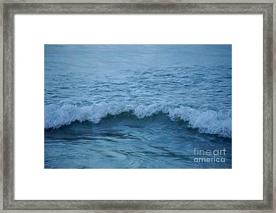 waves I Framed Print by HD Connelly