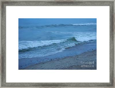 waves II Framed Print by HD Connelly