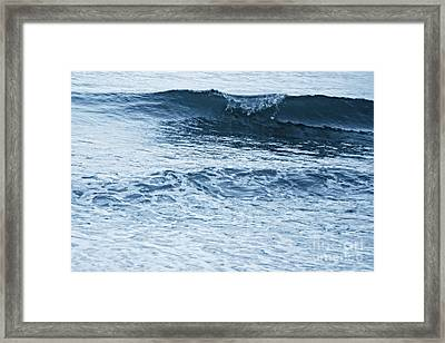 waves III Framed Print by HD Connelly