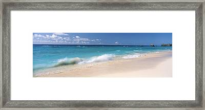 Waves In The Ocean, Warwick Long Bay Framed Print by Panoramic Images