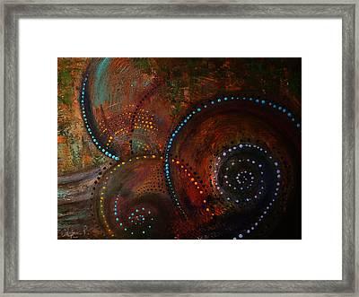 Waves Of Arousal  Framed Print by Sylvia  Pekarek