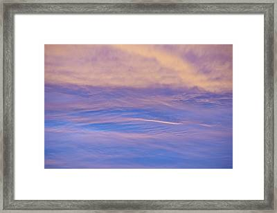 Framed Print featuring the photograph Waves Of Color by Wanda Krack