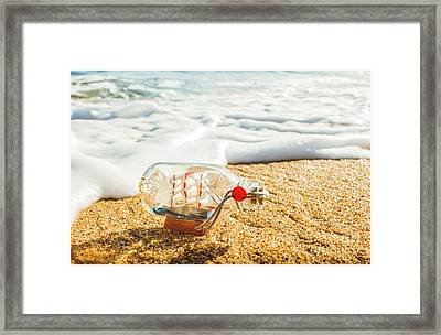 Waves Of Exploration And Adventure Framed Print by Jorgo Photography - Wall Art Gallery