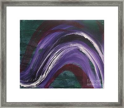 Waves Of Grace Framed Print