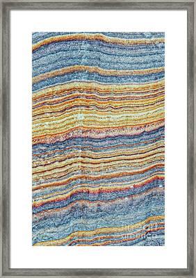 Waves Of Sandstone Framed Print by Tim Gainey