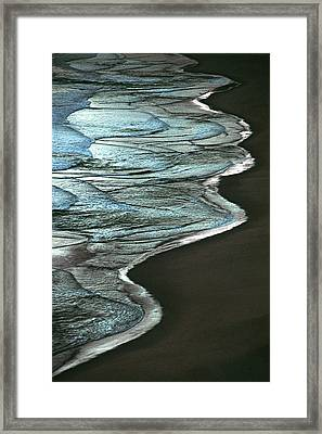 Waves Of The Future Framed Print