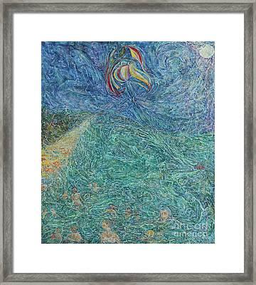 Waves On The Azov Sea Framed Print