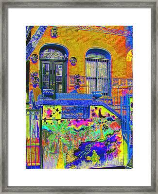 Wax Museum Harlem Ny Framed Print